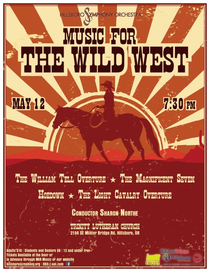 HSO Spring 2017 Concert - Music for the Wild West