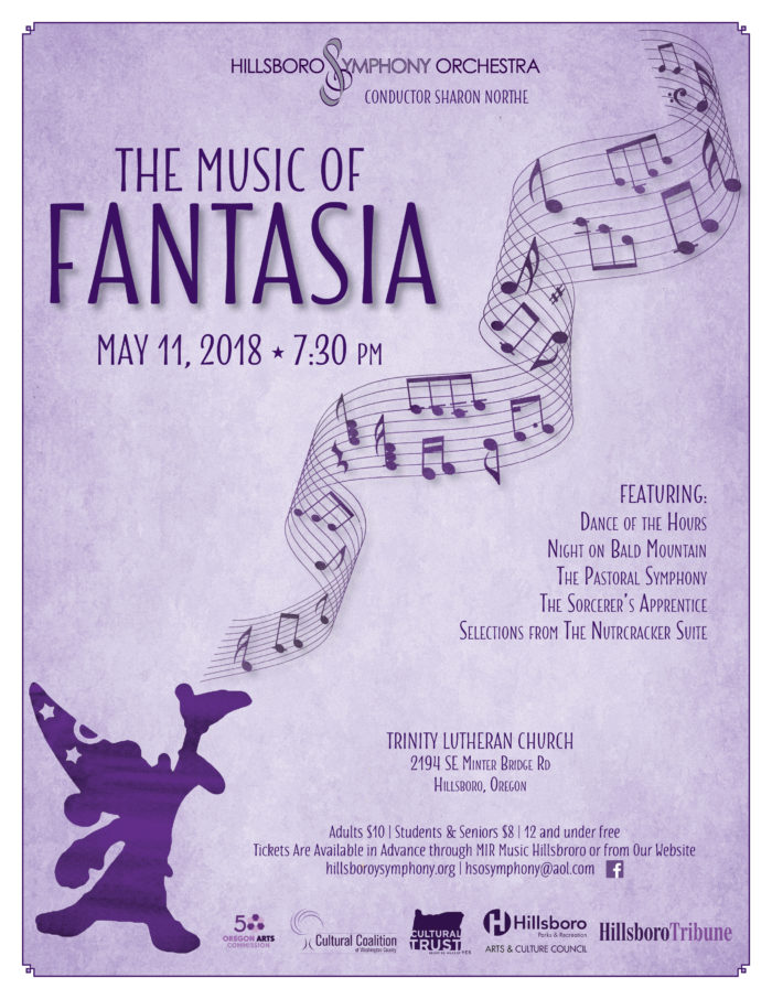 Hillsboro Symphony Spring Concert Flyer