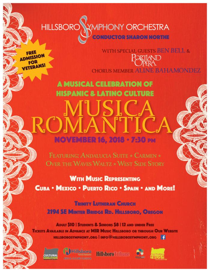 HSO Fall Concert - Musica Romantica
